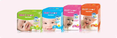Kiddi Love Baby Diaper - Premium Quality