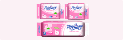 Rosemary Sanitary Pads - Economical Series